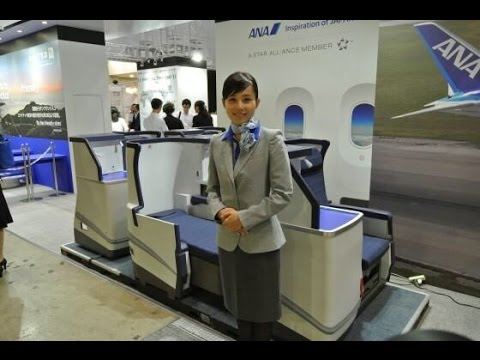 ANA All Nippon Airways B777-300ER Business Class