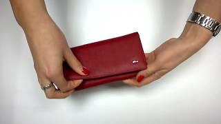 Обзор: Женский кожаный кошелек