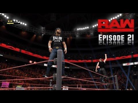 WWE 2K17 Monday Night Raw Story Mode Episode 21