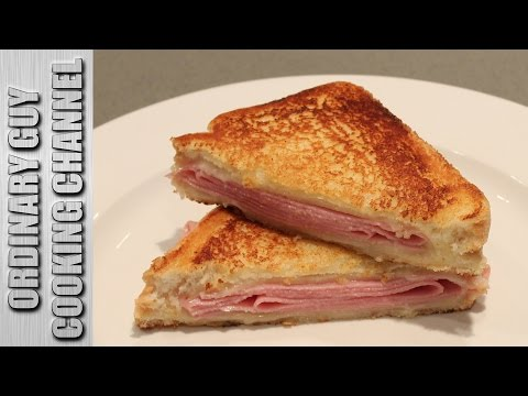 Grilled Ham and Swiss Cheese Sandwich with Dijon Butter | #Recipe | Ordinary Guy Cooking Channel