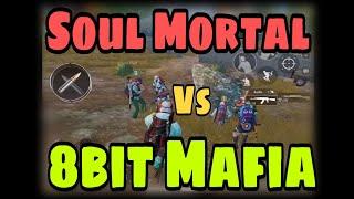 Soul Mortal Vs 8Bit Mafia, Conqueror Vs Conqueror, Same Lobby Friendly Match Rush Gameplay Highlight