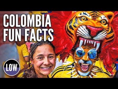 Colombia Fun facts about one of South America's most interes