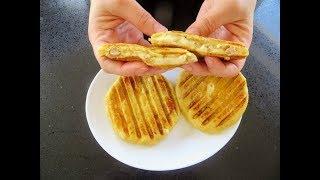 И хлеба не надо Картофельные бутерброды с фаршем и сыром Рецепты Другой Кухни