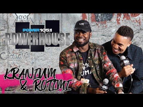 Powerhouse - Kranium & Rotimi Talk POWER & More At Powerhouse NYC