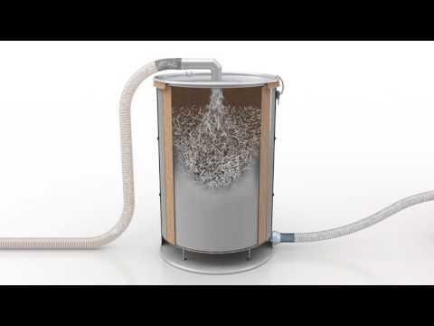 Ruwac промышленные пылесосы - Cепаратор