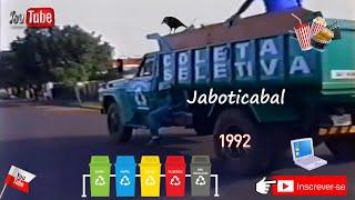 Coleta Seletiva 1992 - Jaboticabal