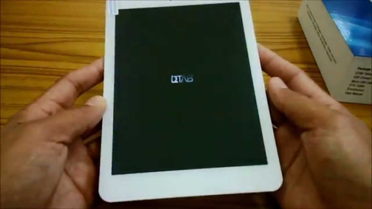 QTAB UNBOXING quad core 8inch tablet