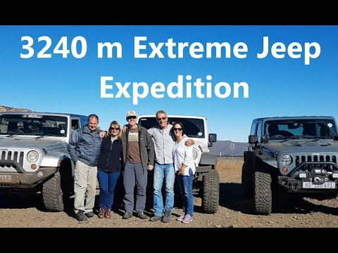 3240 m Extreme Jeep expedition Katse Dam Lesotho (Africa)   Part 2