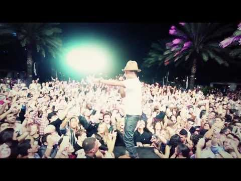 Pharrell + Afrojack NYE 2014 at Fontainebleau Mp3