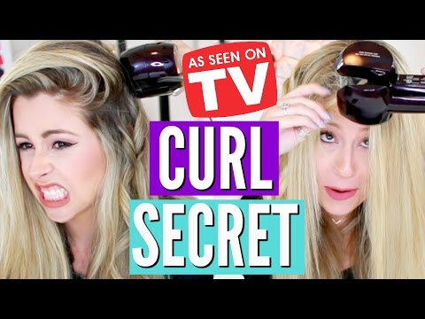 TESTING As Seen on TV Products | CURL SECRET