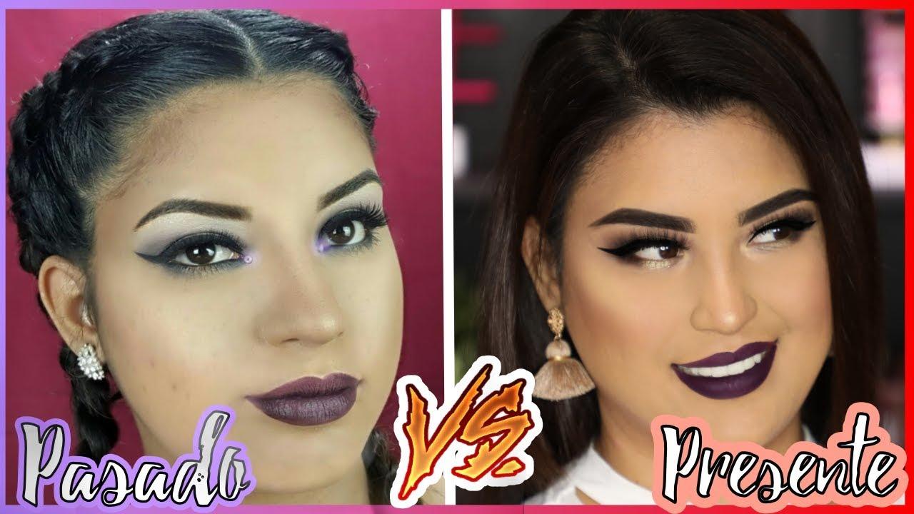 Recreando mi Primer tutorial de Maquillaje | Antes y después de roccibella