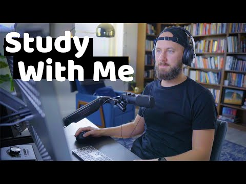 Study With Me - 1 Hour Pomodoro Session