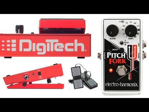 DigiTech Whammy 5 / EHX Pitch Fork / Axe FX II
