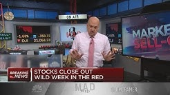 'We could be on the verge of a depression,' Jim Cramer warns