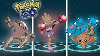 ¡LAS MEJORES EVOLUCIONES de TYROGUE: HITMONLEE, HITMONCHAN y HITMONTOP en Pokémon GO! [Keibron]