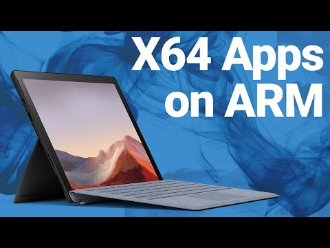 Windows 10 on ARM Insider Update - x64 Apps!