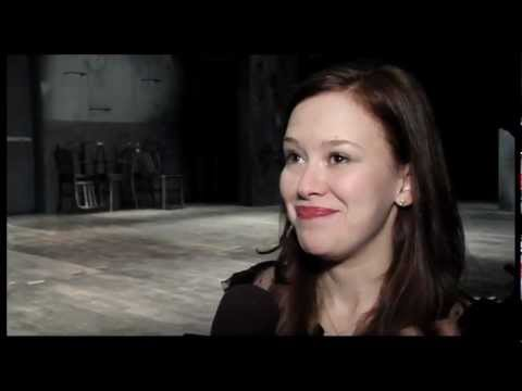 """Behind the Scenes: In Rehearsal with """"Carrie"""" Off-Broadway Starring Marin Mazzie"""