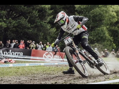 2017 UCI Downhill Mountain Bike World Cup Vallnord  Highlights