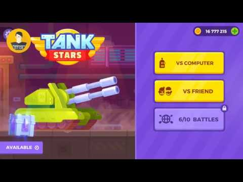 Tank Stars All Tanks Unlocked Gameplay