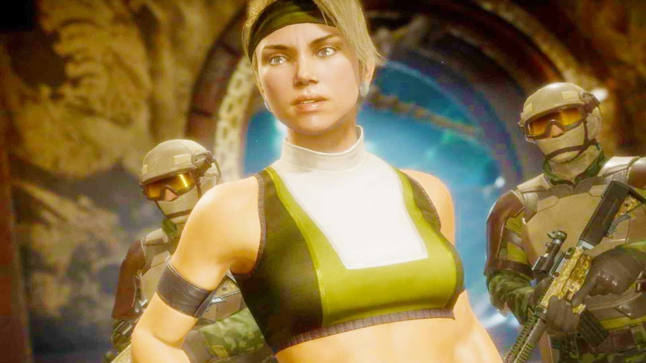Mortal Kombat 11 Pc Sonya Blade Mk3 Costume Performs Intro Dialogues Vs All Characters