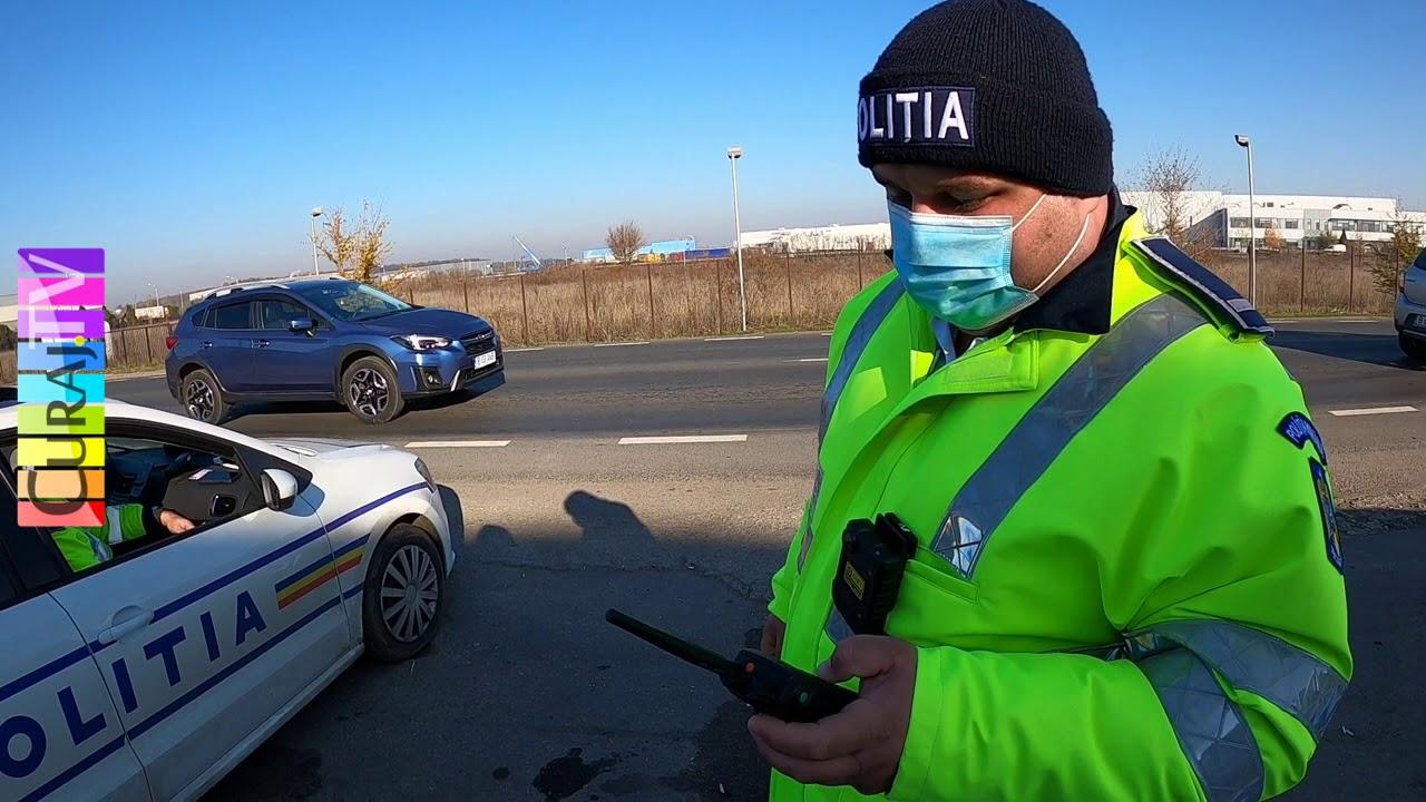 Polițaiul mă amendează ca răzbunare pentru filmare - Curaj.TV