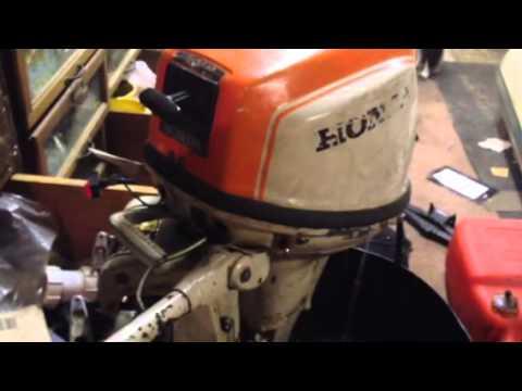 honda b75 youtube rh youtube com honda b75 service manual 7.5 Honda 4 Stroke Outboard