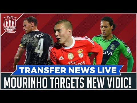 Mourinho's New CB! MANCHESTER UNITED TRANSFER NEWS