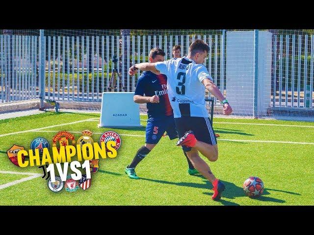 CHAMPIONS 1vs1 JORNADA 4 ¡Reto Fútbol! [Crazy Crew]