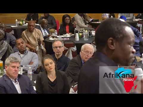 Prof P.L.O. Lumumba at the African Cultural Association in Boston