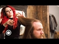 Long Hair Maintenance Trim at Barbershop | Cut and Grind