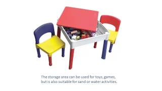 Kids Square Activity Table And Chairs