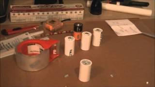EASY DIY AA Vers D de la Cellule de Batterie Entretoises Batterie Hack