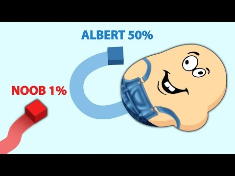 Albert plays PAPER.IO