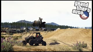 GTA 5 ROLEPLAY - MY BROTHER TRIES TO JUMP MY POLARIS RS1 - EP. 970 - AFG -  CIV
