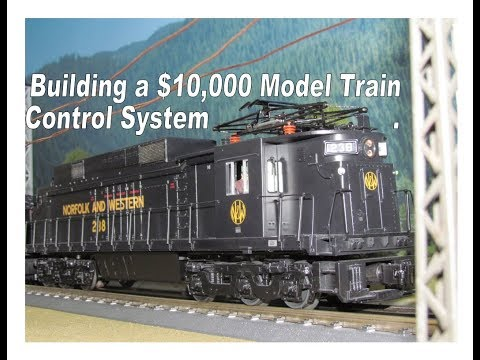 Building a Model Train Control System for $10,000… (instead of $10 with an Arduino)