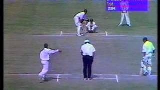 Wasim Akram 257* vs Zimbabwe 1996/97