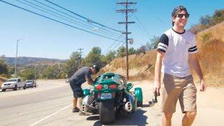 Three Wheeled Badass- Campagna T-REX Drive!