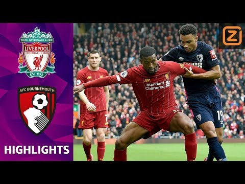 MOOIE WEDSTRIJD OP ANFIELD! 💥   Liverpool Vs Bournemouth   Premier League 2019/20   Samenvatting
