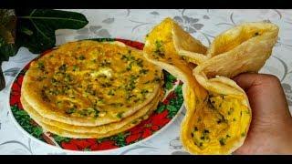Катлама с Яйцами и Зеленью/ Супер рецепт