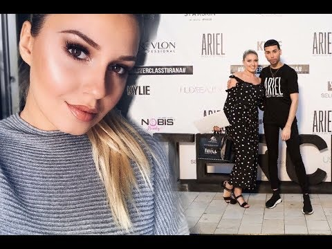 Masterclass By ARIEL TEJADA | Make Up Tips + Recreation | HUGE Goodiebag Unboxing | Sara Karaj