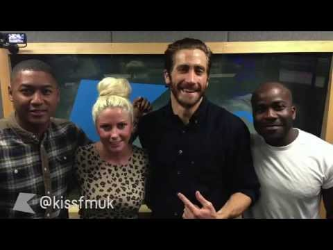 Jake Gyllenhaal Interview about Prisoners on Kiss FM Radio in the UK