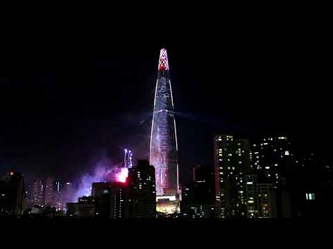 Lotte World Tower New Year Countdown