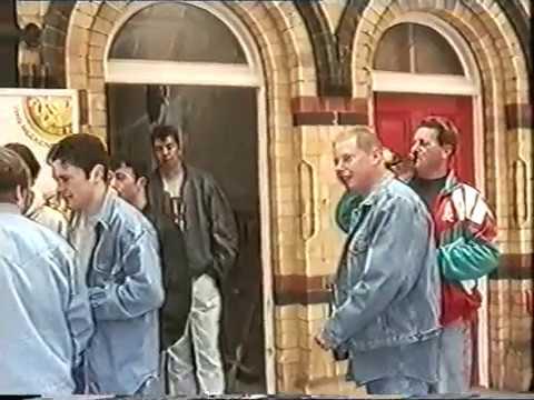 Portadown boys at lisburn railway station