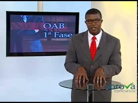 Vídeo Gabarito xiii exame de ordem