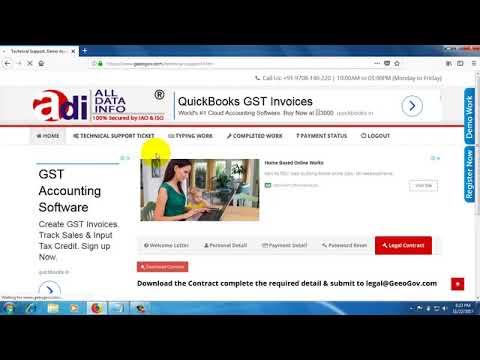 Online Data Entry Video Demo  100  Legal   Genuine Home Jobs Provider