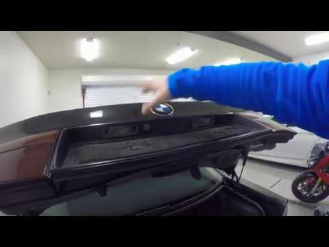BMW E31 emergency trunk / boot opening (batteries drained)