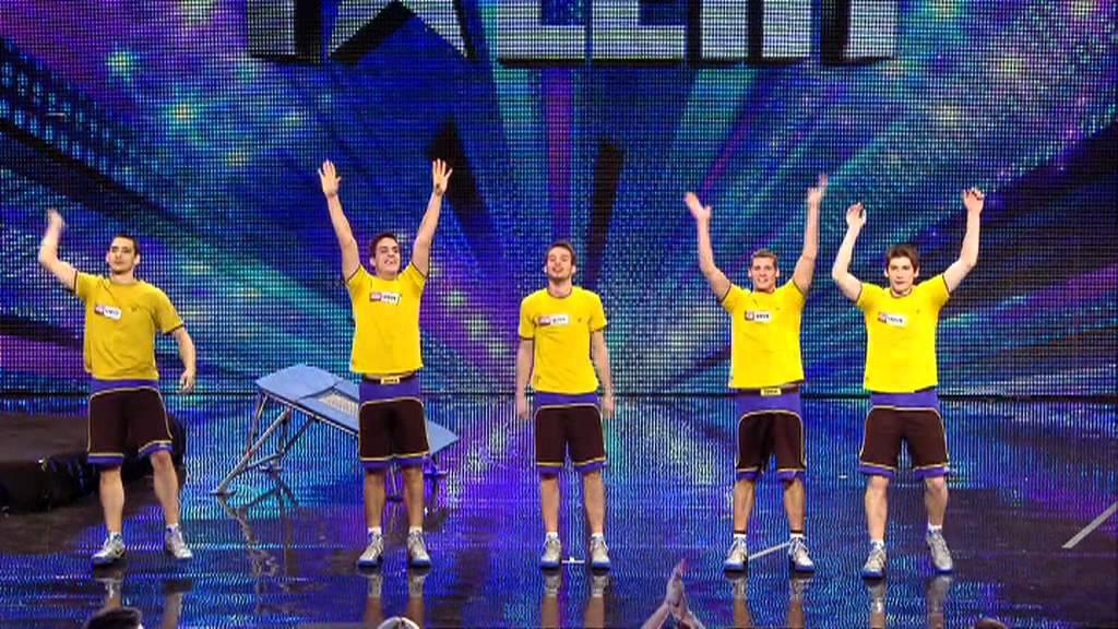 Face Team basketball acrobatics - Britain's Got Talent ...