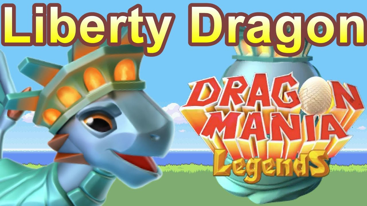 How To Breed The Liberty Dragon Of The Week Dragon Mania Legends