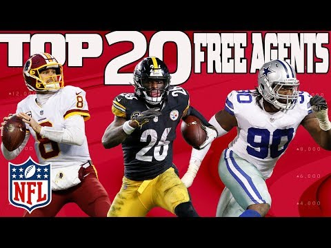 Ranking the Top 20 Free Agents | NFL Highlights