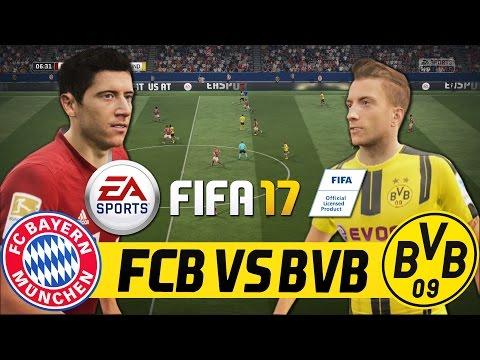 FIFA 17 FULL GAMEPLAY - BORUSSIA DORTMUND VS FC BAYERN MÜNCHEN